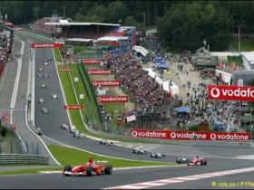 Гран При Бельгии,поворот Алая жидкость