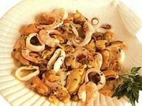 Салат итальянский из морепродуктов