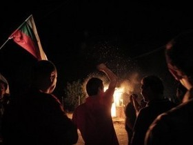 акция протеста против цыган