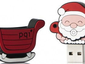 PQI Santa Claus U827 Travel Disk