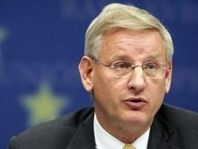 Карл Бильдт,Министр зарубежных дел Швеции