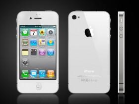 белый iPhone 4