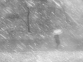 снег и дождь