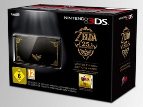 The Legend of Zelda 25th Anniversary Limited Edition Nintendo 3DS