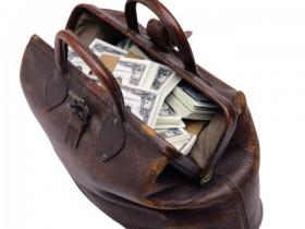 сетка с денежными средствами