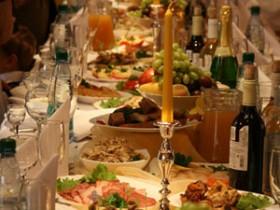 новый год, меню, пища