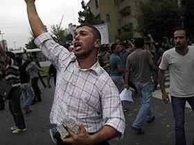 протест, иран
