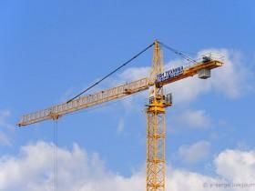 строитьный кран