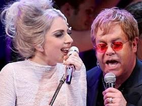 Леди Gaga и Элтон Джон