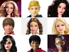 Из наиболее распространенных артистов сделали игрушки