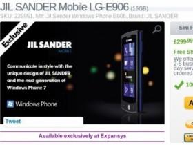 Jil Sander Mobile («ЭлДжи» E906)