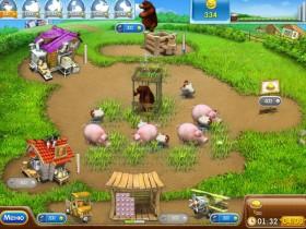 Жизнерадостная усадьба 2,Farm Frenzy