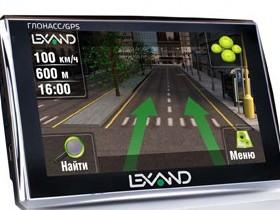 Автомобильные навигаторы Lexand