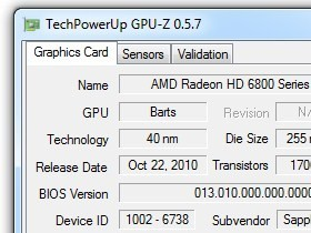 GPU-Z 0.5.7