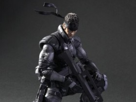 Solid Snake Play Arts Kai Action Figure