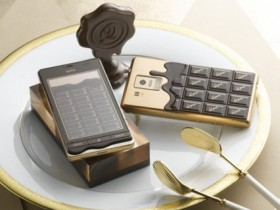 Q-pot SH-04D,шоколадный телефон