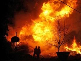 авиакатастрофа,пожар