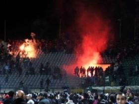 Общественная потасовка после поединка в Египте