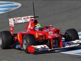 Феррари F2012,Масса