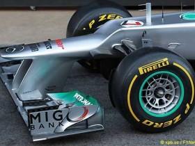 Мерседес F1 W03
