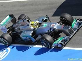 Мерседес F1 W03,Нико Росберг,