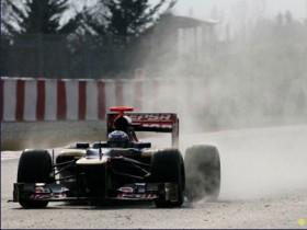 Зимние исследования 2012, Даниэль Риккардо, Toro Rosso