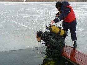 лёд, спасатели