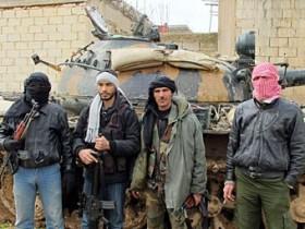 повстанцы, Сирия