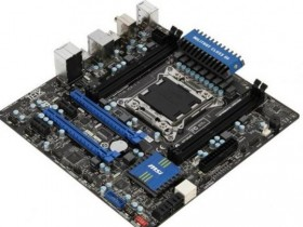 Micro-ATX оплата MSI X79MA-GD45 под LGA 2011
