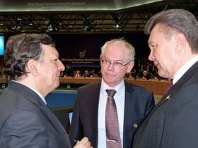 Янукович, Жозе Мануэлем Баррозу
