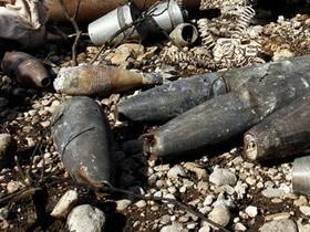 Замечены 10 снарядов пор битвы  в Черкасской области
