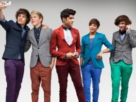 One Direction вписывают песню с Джастином Бибером