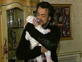 Киркоров с дочкой