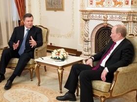 В. Янукович,В. Путин,