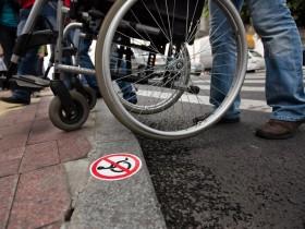 Функционеры помогают инвалидам в Одессе