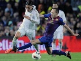 Андрес Иньеста,Озил,Барселона - Реал