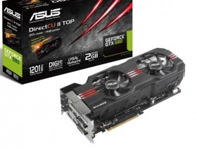 ASUS GeForce GTX 680 DirectCU II TOP