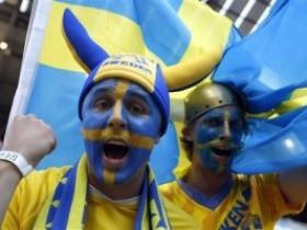 Фаны Швеции