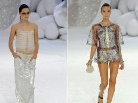 Мода 2012: металлик, пластик и винил