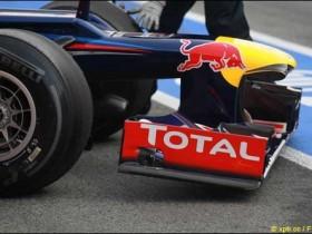 Red Bull RB8 обрыв