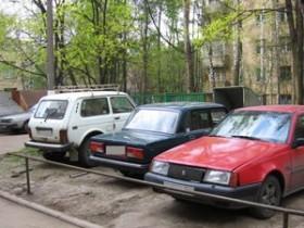 автомобильная парковка