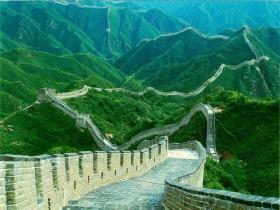 Знаменитая Китайская стена
