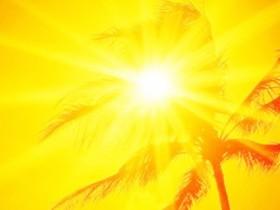 жаркая погода