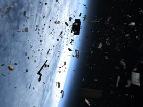 мировой мусор,космос
