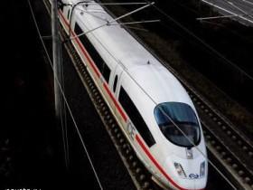 германский поезд