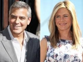 Дженнифер Энистон и Джордж Клуни