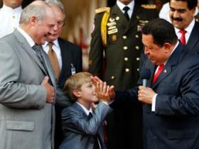 Лукашенко с сыном