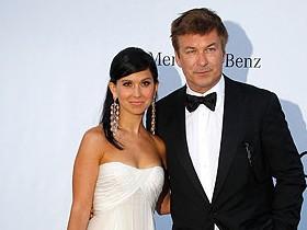 Алек Боулдуин и его супруга
