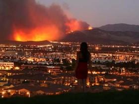 Калифорния,пожар