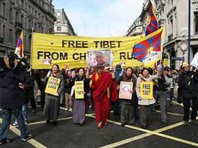 Абитуриенты за свободный Тибет